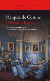 Cartas De Rusia - Marques De Custine