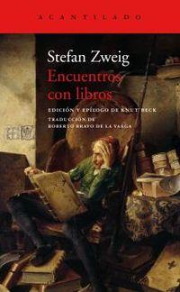 encuentros con libros - Stefan Zweig