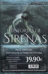 HISTORIAS DE LA TIERRA INCONTABLE (PACK ESPECIAL) - EL DESPERTAR + HISTORIAS DE SIRENAS + COMIC + MARCAPAGINAS