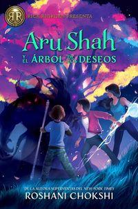 ARU SHAH Y EL ARBOL DE LOS DESEOS