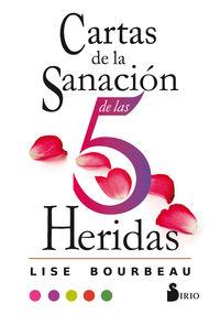 CARTAS DE LA SANACION DE LAS 5 HERIDAS