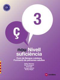 NOU NIVELL SUFICIENCIA 3 (+QUAD) - CURS LLENGUA CATALA