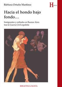 Hacia El Hondo Bajo Fondo. .. - Barbara Ortuño Martinez