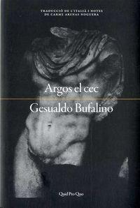 Argos El Cec - Gesualdo Bufalino