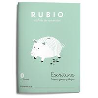 CUAD RUBIO ESCRITURA 0 PREESCRITURA (COLOR)