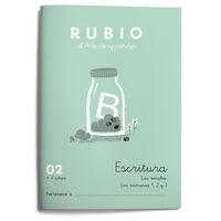 CUAD RUBIO ESCRITURA 02 (COLOR)