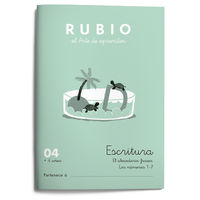 CUAD RUBIO ESCRITURA 04 (COLOR)