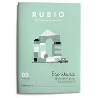 CUAD RUBIO ESCRITURA 05 (COLOR)