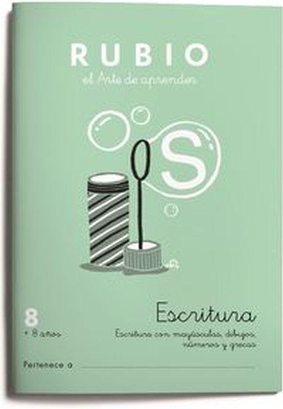 CUAD RUBIO ESCRITURA 8 (COLOR)