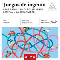 JUEGOS DE INGENIO - PARA ESTIMULAR EL PENSAMIENTO LATERAL Y LA CREATIVIDAD