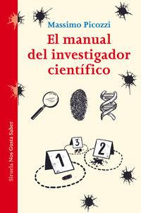 El manual del investigador cientifico - Massimo Picozzi