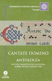 CANTATE DOMINO ANTOLOGIA