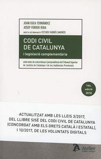 (16 ED) CODI CIVIL DE CATALUNYA I LEGISLACIO COMPLEMENTARIA