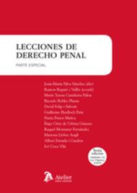 LECIONES DE DERECHO PENAL