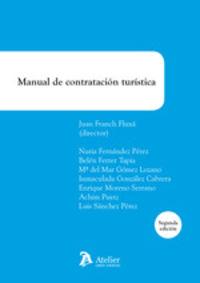 (2 ED) MANUAL DE CONTRATACION TURISTICA