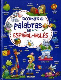 DICCIONARIO DE PALABRAS ESPAÑOL / INGLES
