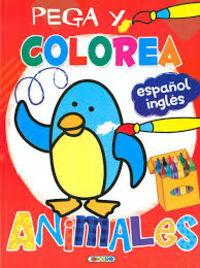 PEGA Y COLOREA ANIMALES (5024-003)