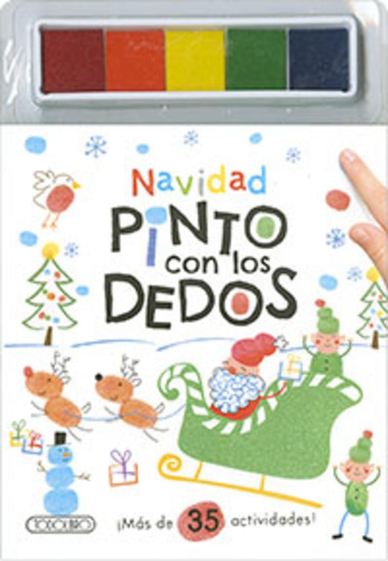 NAVIDAD - PINTO CON LOS DEDOS