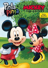 Mickey Y Sus Amigos - Pinta Pinta - Libro Para Colorear - Aa. Vv.