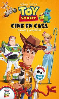 TOY STORY - CINE EN CASA - CUENTO Y PROYECTOR DE CINE