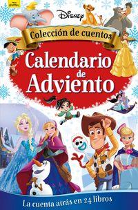 DISNEY - CALENDARIO DE ADVIENTO - COLECCION DE CUENTOS