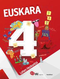 LH 4 - EKI - EUSKARA 4 (PACK)