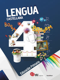 Ep 4 - Eki - Lengua Castellana 4 (pack) - Aa. Vv.