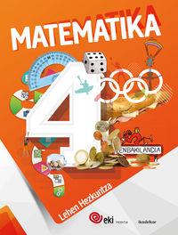 Lh 4 - Eki - Matematika 4 (pack) - Batzuk