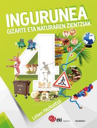 Lh 4 - Eki - Ingurunea 4 (pack) - Batzuk