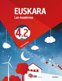 Lh 4 - Eki - Euskara 4 Lan Koad 4-2 - Batzuk
