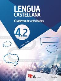 Ep 4 - Eki - Lengua Castellana Cuad 4-2 - Aa. Vv.