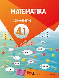 Lh 4 - Eki - Matematika 4 Lan Koad 4-1 - Batzuk