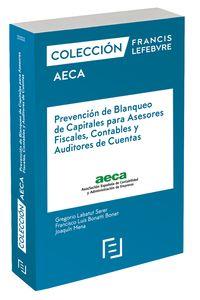 Manual Prevencion De Blanqueo De Capitales Para Asesores Fiscales, Contables Y Auditores De Cuentas - Aa. Vv.