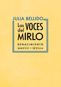 Las voces del mirlo - Julia Bellido