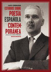 ESTUDIOS SOBRE POESIA ESPAÑOLA CONTEMPORANEA