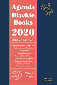 AGENDA BLACKIE BOOKS 2020 - CUIDA TU TIEMPO