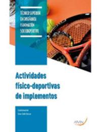GS - ACTIVIDADES FISICO DEPORTIVAS DE IMPLEMENTOS