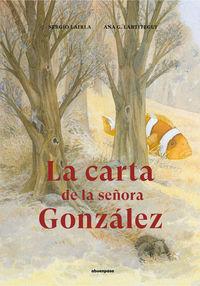 CARTA DE LA SEÑORA GONZALEZ, LA