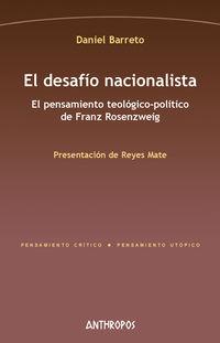 El desafio nacionalista - Daniel Barreto