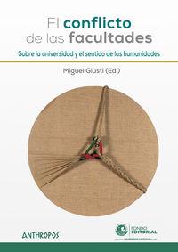 CONFLICTO DE LAS FACULTADES, EL