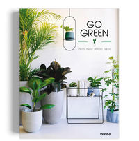 GO GREEN - PLANTS MAKE PEOPLE HAPPY