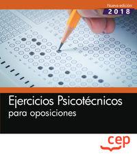 EJERCICIOS PSICOTECNICOS PARA OPOSICIONES