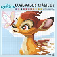 ANIMALES DISNEY - CUADRADOS MAGICOS