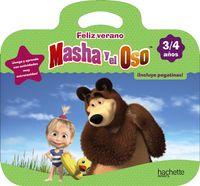 3 / 4 Años - Feliz Verano Con Masha Y El Oso - Marta Garcia Cortizas