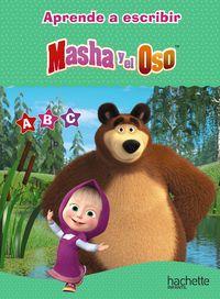 Las letras con masha y el oso - O. Kuzovkov