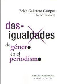 DESIGUALDADES DE GENERO EN EL PERIODISMO