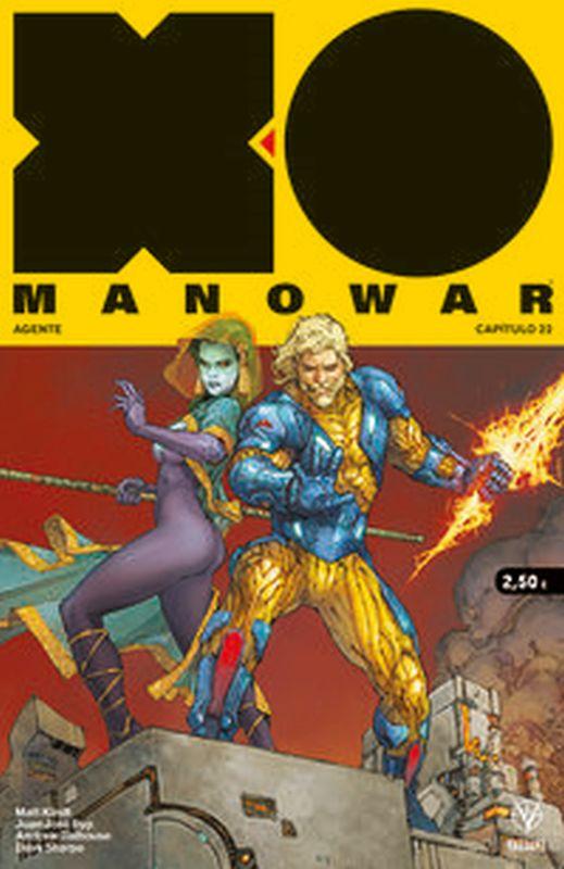 X-O Manowar 22 - Matt Kindt