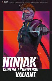 Ninjak Contra El Universo Valiant - Eliot Rahal