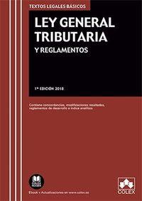 LEY GENERAL TRIBUTARIA Y REGLAMENTOS - CONTIENE CONCORDANCIAS, MODIFICACIONES RESALTADAS, REGLAMENTOS DE DESARROLLO E INDICE ANALITICO