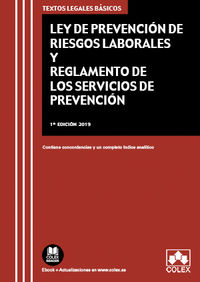 LEY DE PREVENCION DE RIESGOS LABORALES Y REGLAMENTO DE LOS SERVICIOS DE PREVENCION